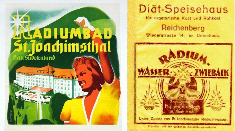 Radioaktive Konsumartikel - Allheilmittel für alle!